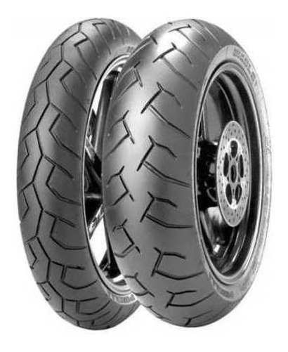 Par Pneu Fazer 600 Xj6 120/70-17 + 180/55-17 Pirelli Diablo