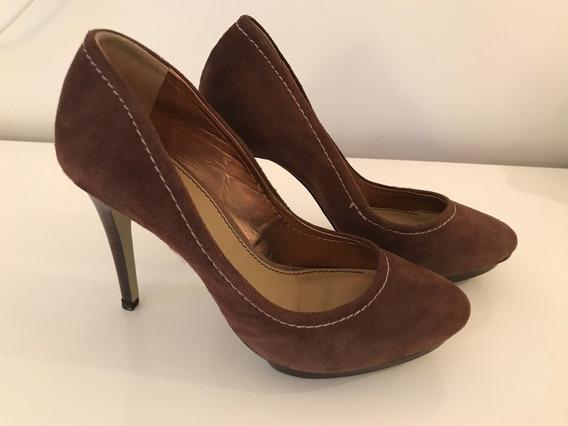 Brecho Sapato Feminino Salto Alto Corello 35 - Usado Uma Vez
