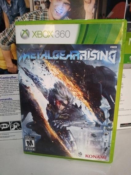 Metal Gear Rising Revengeance Xbox 360 Midia Física Original