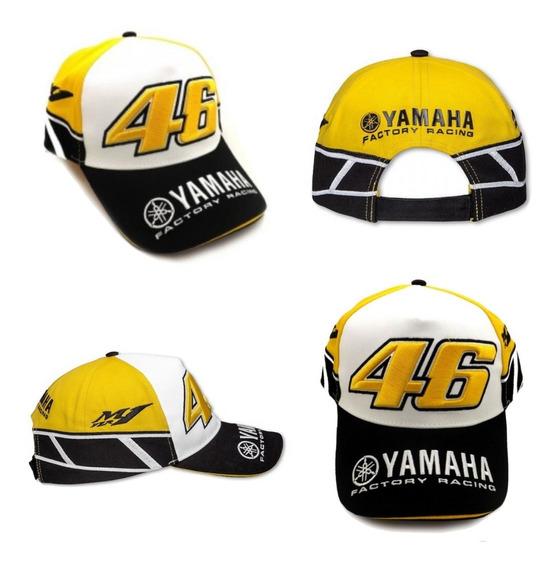 Boné Valentino Rossi R1 - Yamaha Motogp + Frete Grátis Vr 46