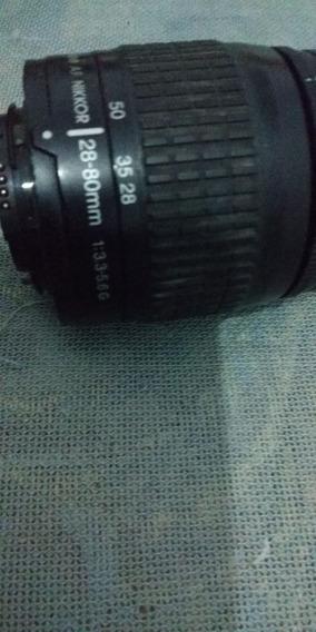 Lente Nikon28-80mm Af