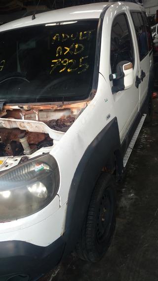 Sucata Fiat Doblo Adv 1.8 16v Ano 2013 Retirada De Peças