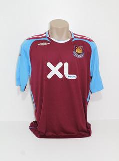 Camisa Original West Ham 2007/2008 Home