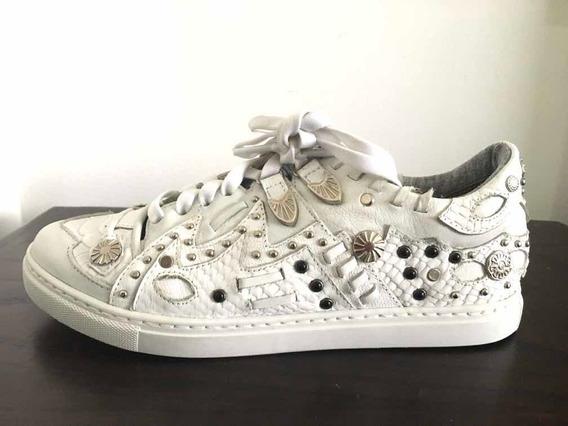 Zapatillas Rapsodia Blancas Número 37 Usadas Impecables