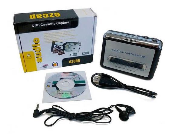 Conversor Leitor Fita Cassete K7 | Usb Stereo Digital Pc