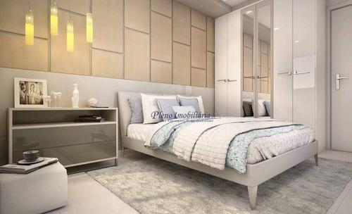 Imagem 1 de 21 de Apartamento Com 2 Dormitórios Sendo 1 Suíte, À Venda, 83 M² Por R$ 502.150 - Maracanã - Praia Grande/sp - Ap0830