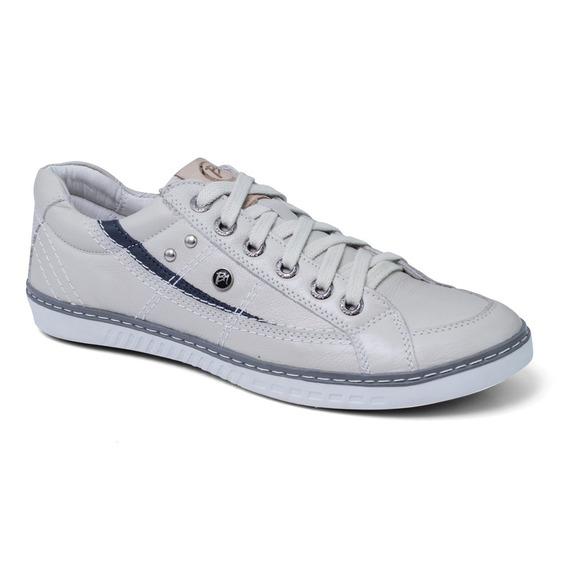 Sapato Sapatênis Masculino Casual Couro Bmbrasil 302/06
