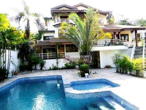 Casa Com 4 Dormitórios À Venda, 584 M² - Condomínio Arujazinho Iv - Arujá/sp - Ca0540