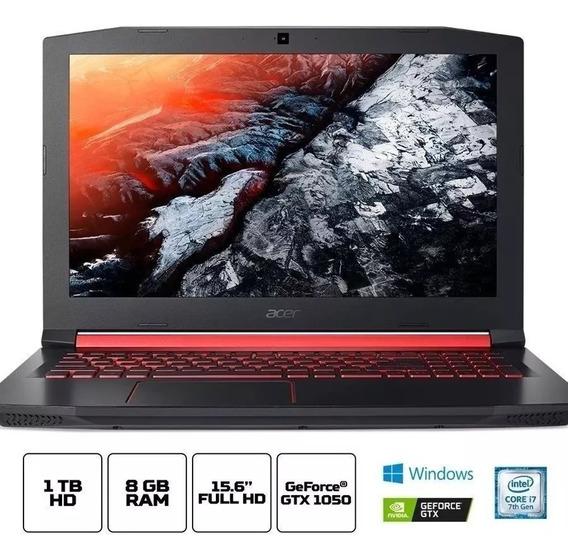 Notebook Acer Aspire Nitro5 I7 7700hq Ram 8gb Hd 1tb Gtx1050