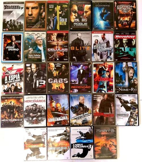 Dvd Carga Explosiva + Colecao Jason Statham - 28 Filmes