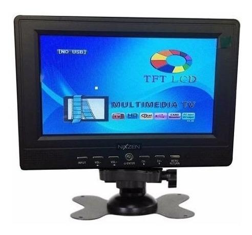 Monitor Seguridad Lcd 9 Pulgadas Color Video Rca Cctv