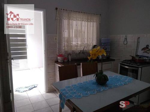 Casa Com 3 Dormitórios À Venda, 100 M² Por R$ 399.000,00 - Campestre - Santo André/sp - Ca0378
