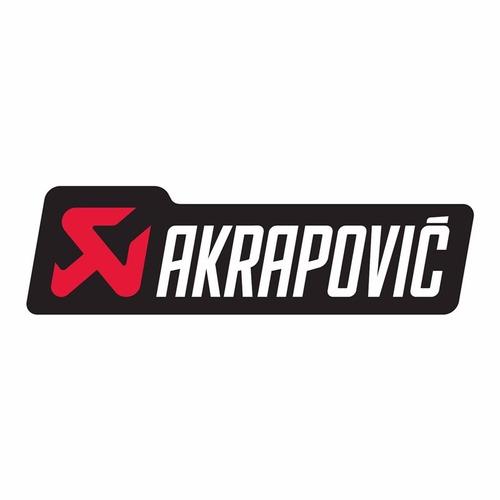 Sticker Akrapovic Plotter 801603 Original Alta Calidad