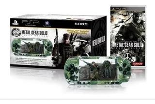 Psp Camuflaje Edicion Metal Gear Impecable