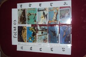 Ctna0004 - 80 Cartões Telefônicos Avulsos Para A Sua Coleção