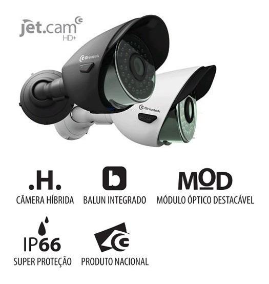 Câmera De Segurança Hibrida 720p Analógica Balun Integrado