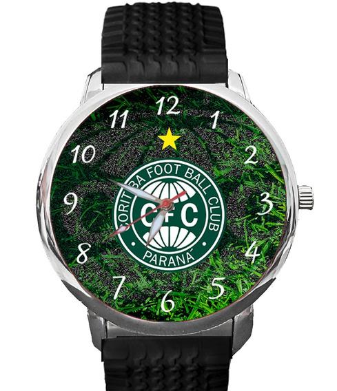 Relógio Coritiba Coxa Branca Verdão Futebol Paraná Curitiba