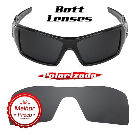 Lente Óculos Oil Rig Stealth Black Polarizada - Bott Lenses