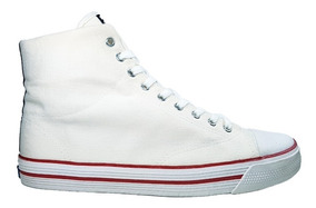 Topper Zapatillas Hombre Derby Basquet Blanco Talles Grandes
