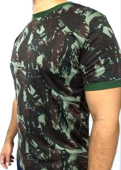 Camisa Camuflada Padrão Exército Brasileiro Dryfit/helanca