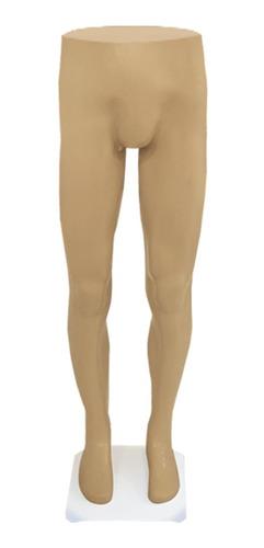 Maniquí Piernas De Hombre Plástico Masculino Color Beige