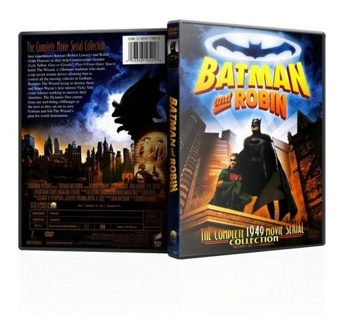 Batman And Robin  Miniserie  (1949) En Dvd