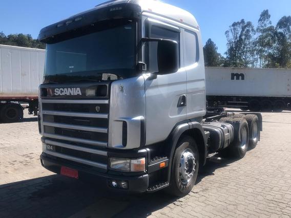 Scania R 124 360 - 2004 - 6x4 - Financiamento 1° Caminhão
