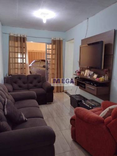 Casa Com 3 Dormitórios À Venda, 80 M² Por R$ 280.000 - Loteamento Vila Esperança - Campinas/sp - Ca2366