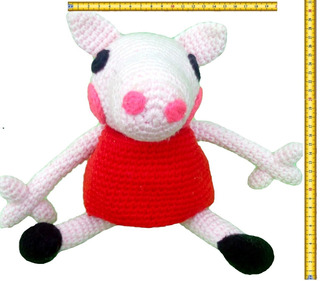 Crochet Family: Daddy Pig,Mummy Pig, Peppa & George | Filtning ... | 281x320