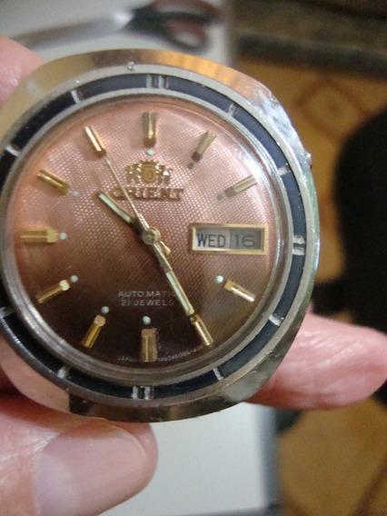 Relógio De Pulso Marca Orient Automatic 21 Jewels