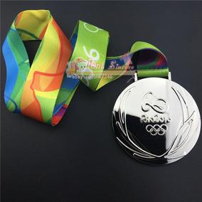 Medalha 85mm Olímpiadas Rio 2016 Tamanho Original
