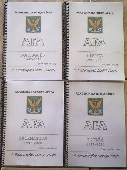 Apostila Provas Afa 1997-2020 Resolvida Comentada