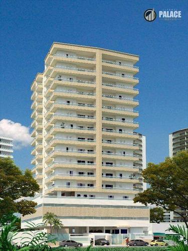 Apartamento Com 2 Dormitórios À Venda, 90 M² Por R$ 480.237,40 - Boqueirão - Praia Grande/sp - Ap1267