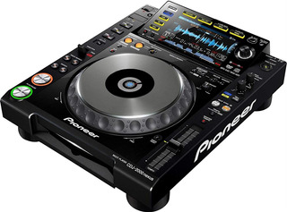 Pioneer Digital Dj Turntable Black 10.50x19.9x15.90 Cdj-2000