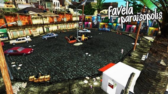 Mod Favela Paraisópolis V2 + Ruas Brasileiras Para Gta Sa