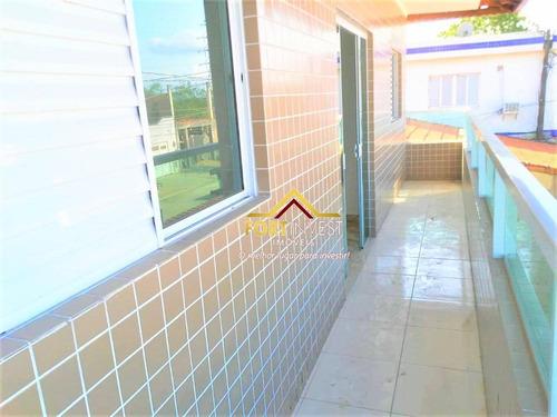 Casa Com 3 Dormitórios À Venda, 79 M² Por R$ 230.000,00 - Tude Bastos (sítio Do Campo) - Praia Grande/sp - Ca0342