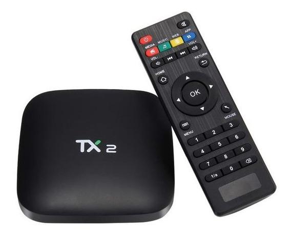 Strieaming Media Player Tanix Tx2 16gb Cor Preto Ram 2gb