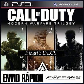 Call Of Duty Modern Warfare Cod Mw 1 2 3 - Jogos Ps3 Psn