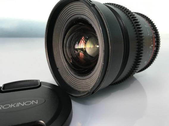 Lente Rokinon 24mm Linha Cine - Muito Nova!