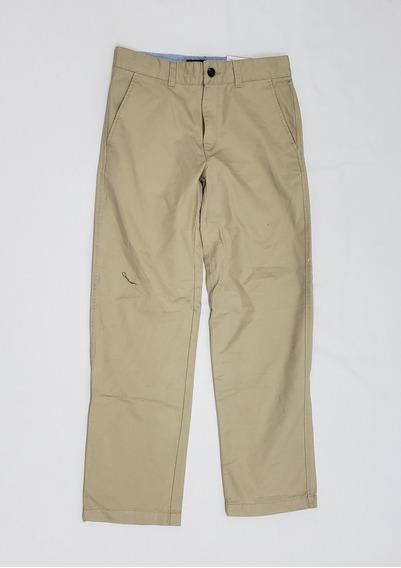 Pantalon De Vestir Tommy Hilfiger Talla 18 Niño O 28 Adulto.