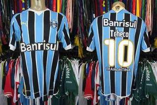 Grêmio Libertadores 2009 Camisa Titular Tamanho G #10 Tcheco
