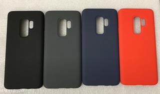 Capa Case Silicone Proteção Nas Laterais Samsung S9 Plus