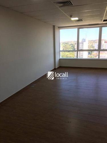Sala Para Alugar, 42 M² Por R$ 2.000,00/mês - Nova Redentora - São José Do Rio Preto/sp - Sa0254