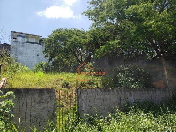Terreno À Venda A 600m Da Estação Dom Bosco, 300 M² Por R$ 350.000 - Vila Carmosina - São Paulo/sp - Te0003