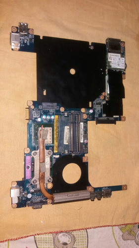 Placa Mãe Notebook Intelbras I62 Usada Para Tirar Peças