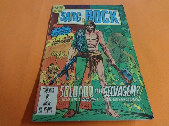 Sarg Rock O Herói N° 24 Gibi Antigo Hq 1979