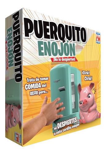 Imagen 1 de 5 de Juego De Mesa Fotorama Puerquito Enojón