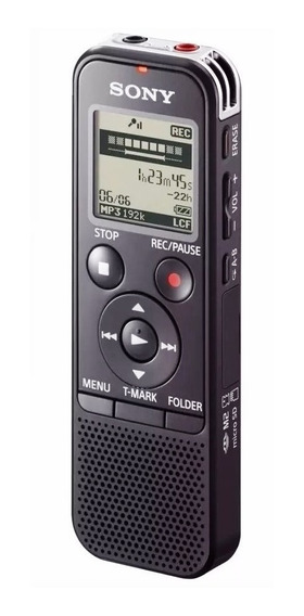 Gravador Voz Digital Sony Icd Px470 4gb + Memória 32gb