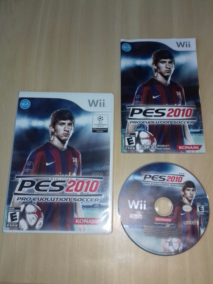 Pes 2010 - Pro Evolution Soccer 2010 - Nintendo Wii