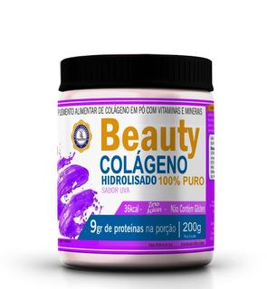 Beauty Drink Colágeno Hidrolisado Com Vitaminas 200g Spn
